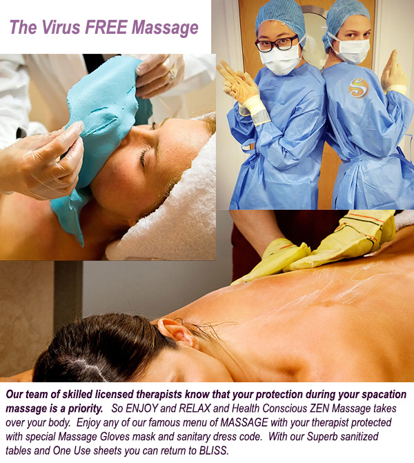 Virus Free Massage at Sea Mountain